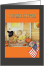 halloween party invitation pair of teddy bears pumpkins card