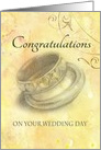 Wedding Congratulations for Son Wedding Rings card