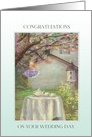 Wedding Congratulations for Son House & Garden Cherry Blossom card