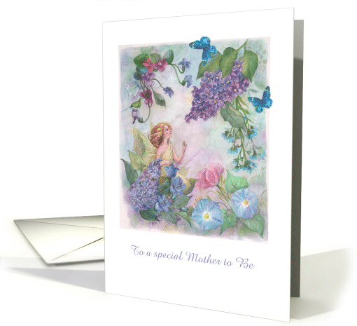 Birthday Mother to be Flower Fairy card (1236134)
