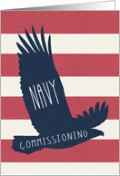 Navy Commissioning Congratulations card