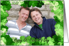 St. Patrick's Day Lucky Frame Photo Card