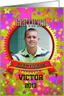 Certified Electrician Congratulation Photo Card