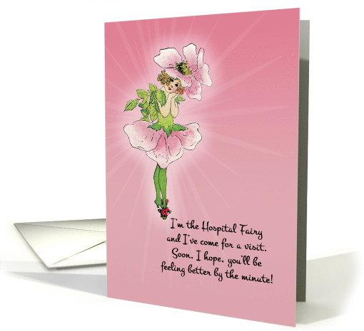 Sweet charming hospital fairy visits secret pal wishes 1303162 sweet charming hospital fairy visits secret pal wishes fast recovery card m4hsunfo