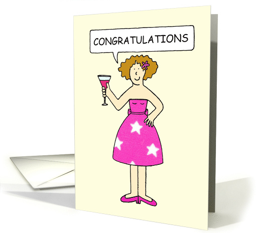 Congratulations You've Lost Weight and you Look Great. card (1201478)