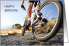 Happy Birthday to Favorite Man on Two Wheels, for Cyclist. card