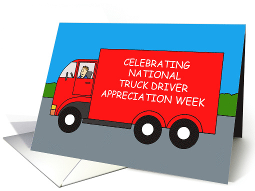 Truck Driver Appreciation Week, September. card (1556402)