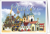 Peace In The New Year card