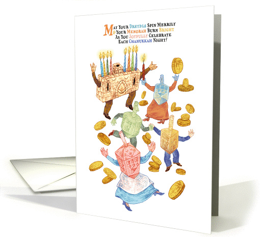 Happy Chanukkah! card (1405770)