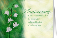 Anniversary, Lily of...