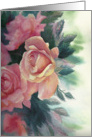 Roses All Over For Your Birthday Card