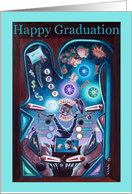 Graduate Pinball Happy Graduation Card