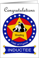 Wrestling Hall of Fame Induction - Wrestlers & Stars card