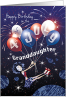 Granddaughter July 4th Birthday