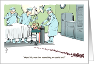 Health Update - Thanks One Year After Kidney Transplant 'Toon card