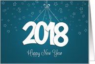 Stars and Strings 2018 New Year's Card