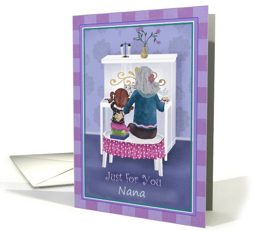 Just for you Nana card (1449644)