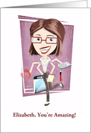 Customizable, Happy Administrative Professionals Day card