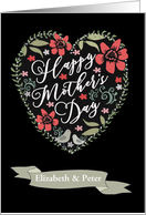 To Mom, From Daughter & Son-in-Law, Customizable, Happy Mother's Day card