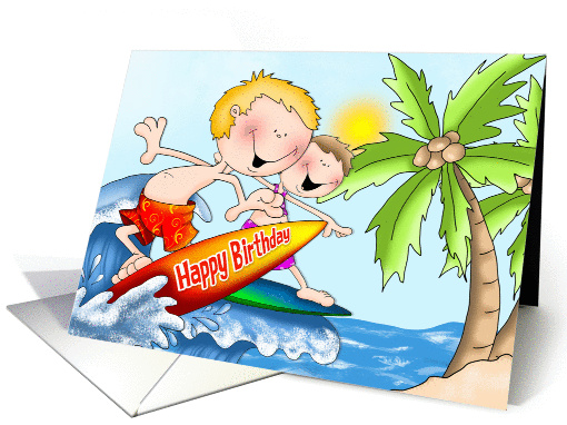 Birthday Splash card (1387560)
