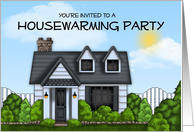 Welcoming and Heartfelt Housewarming Party Invitation card