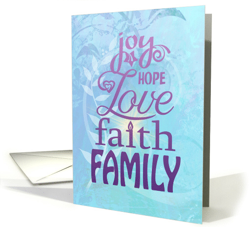 Family Blessings Together Encouragement card (1546132)