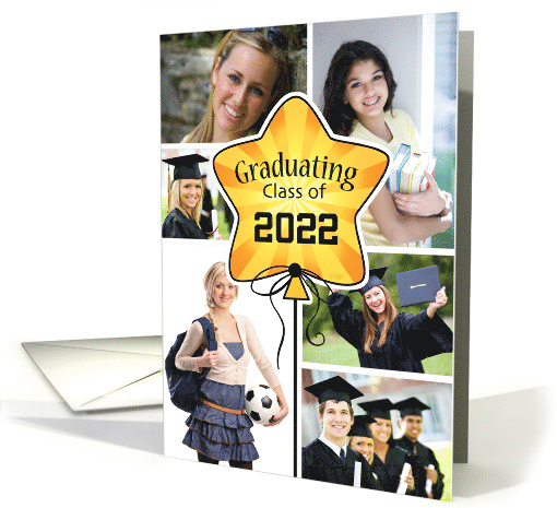 Graduating Class of 2020 Announcement Custom Photo card (1563882)