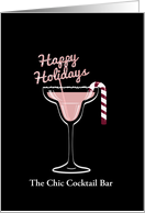 Magarita Christmas, Christmas Cocktail, Pink, Business, For Friend card