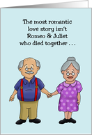 Anniversary Card For An Elderly Couple Most Romantic Love Story card