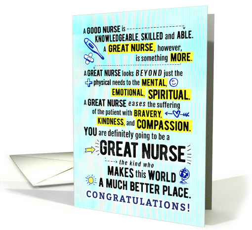 Nurse Pinning Ceremony Congratulations – You Will Be a... (1560050)