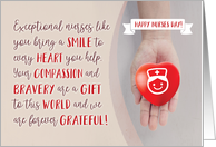 Nurses Day, Exceptional Nurses like You are a Gift to this World card
