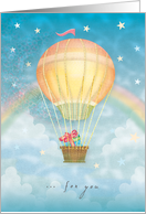 Balloon Gift Delivery Birthday card