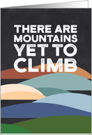 Martin Luther King Day - Mountains Yet to Climb card