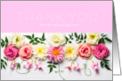 Floral Sympathy Thank You from the Bottom of My Heart card