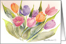 Tulips for Mother's Day card