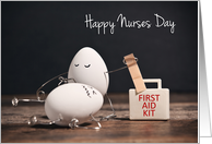 You're A Good Egg Happy Nurses Day card