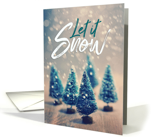 Merry Christmas Let it Snow card (1544978)