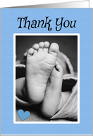 Thank You for the Baby Gift Blue For Boy card