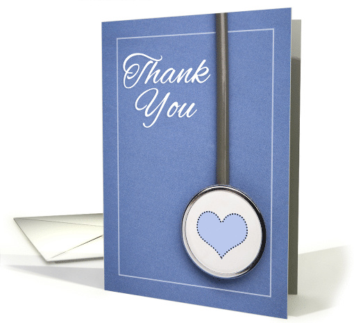 Thank You Medical Worker Doctor Nurse During Coronavirus Pandemic card