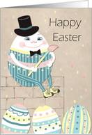 Easter Humpty Dumpty and Eggs card